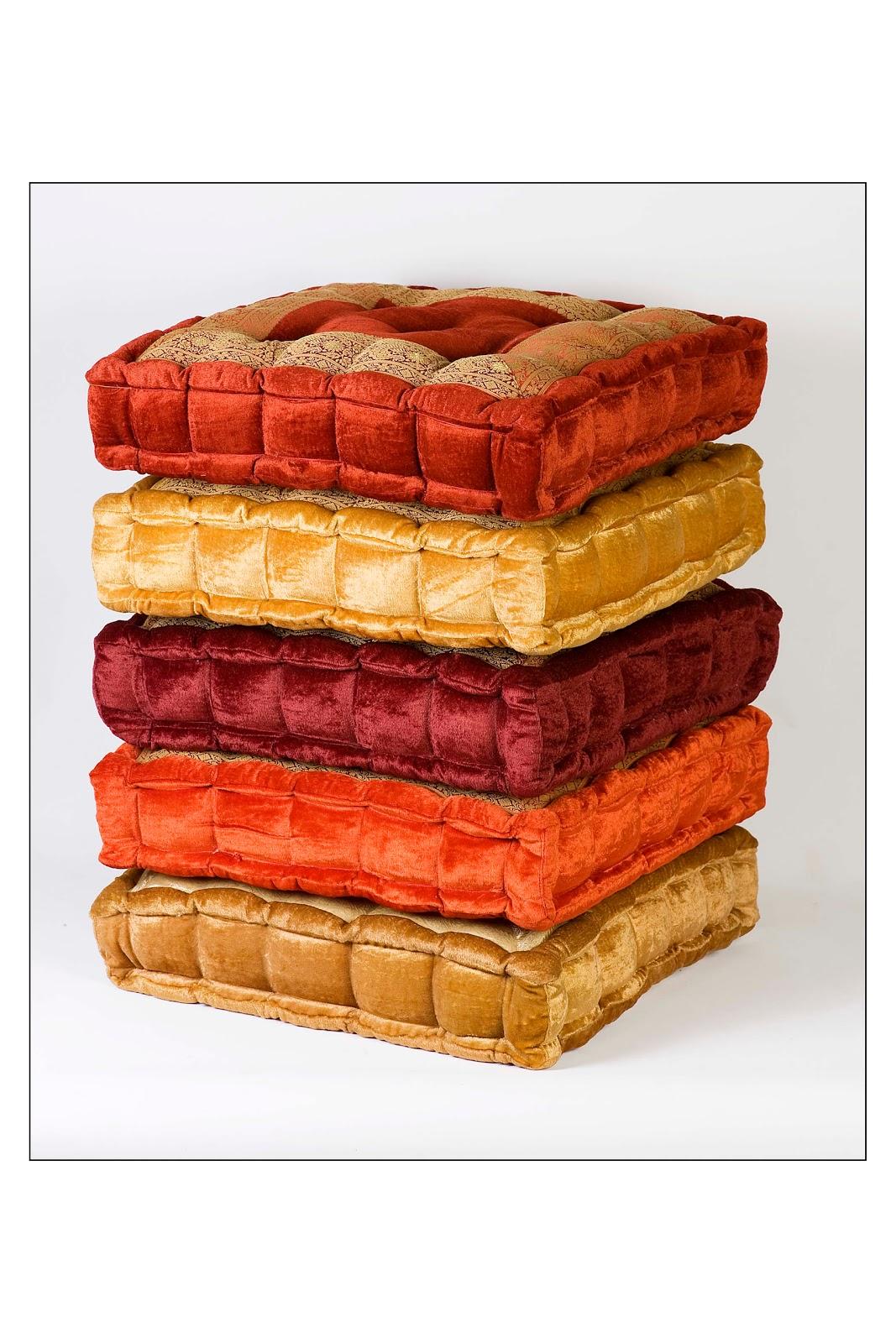 Monsoon Craft.com: Velvet floor Cushions