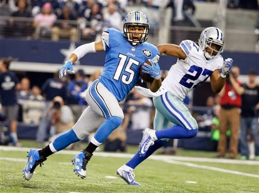 Detroit Lions WR Golden Tate added to Pro Bowl