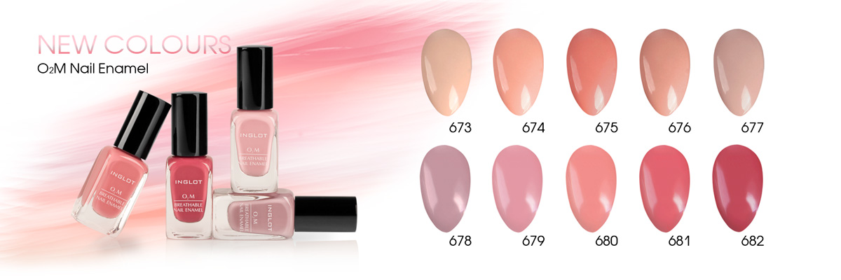 INGLOT Releases 16 New Colors In Their Breathable O2M Series ...
