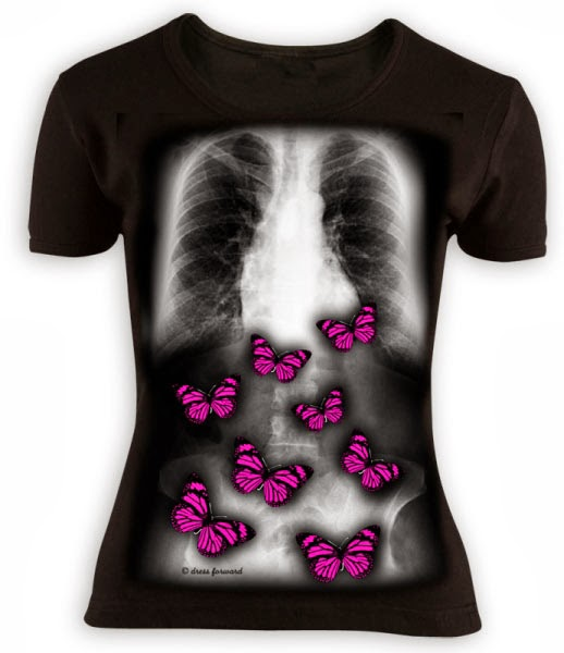 Camiseta Mariposas en el Estómago