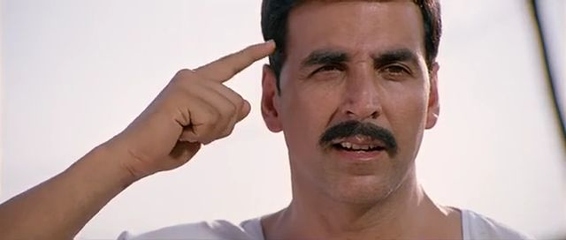Screen Shot Of Hindi Movie Rowdy Rathore (2012) Download And Watch Online Free at worldfree4u.com