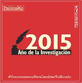 2015, año de la Investigación en PaideiaMx