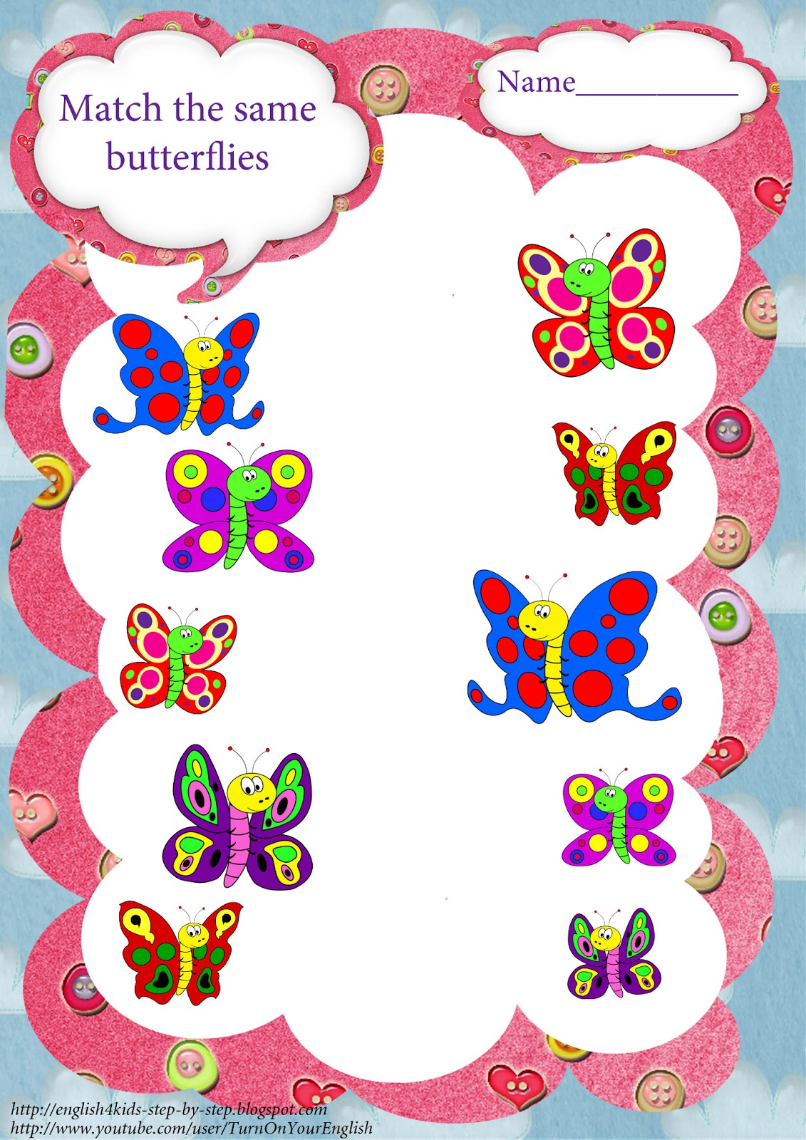 butterfly song coloring pages and worksheets