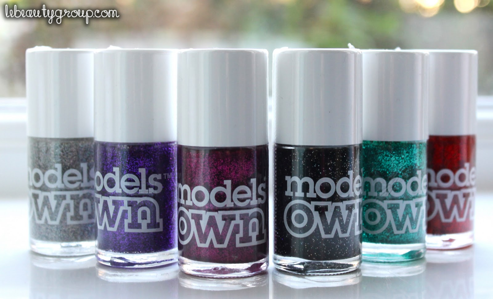 HAUL: Models Own Nail Polish Box Set - Glitter Collection