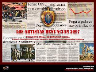LOS ARTISTAS DENUNCIAN 2007