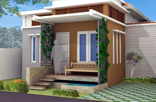 desain sederhana dan simpel teras rumah minimalis