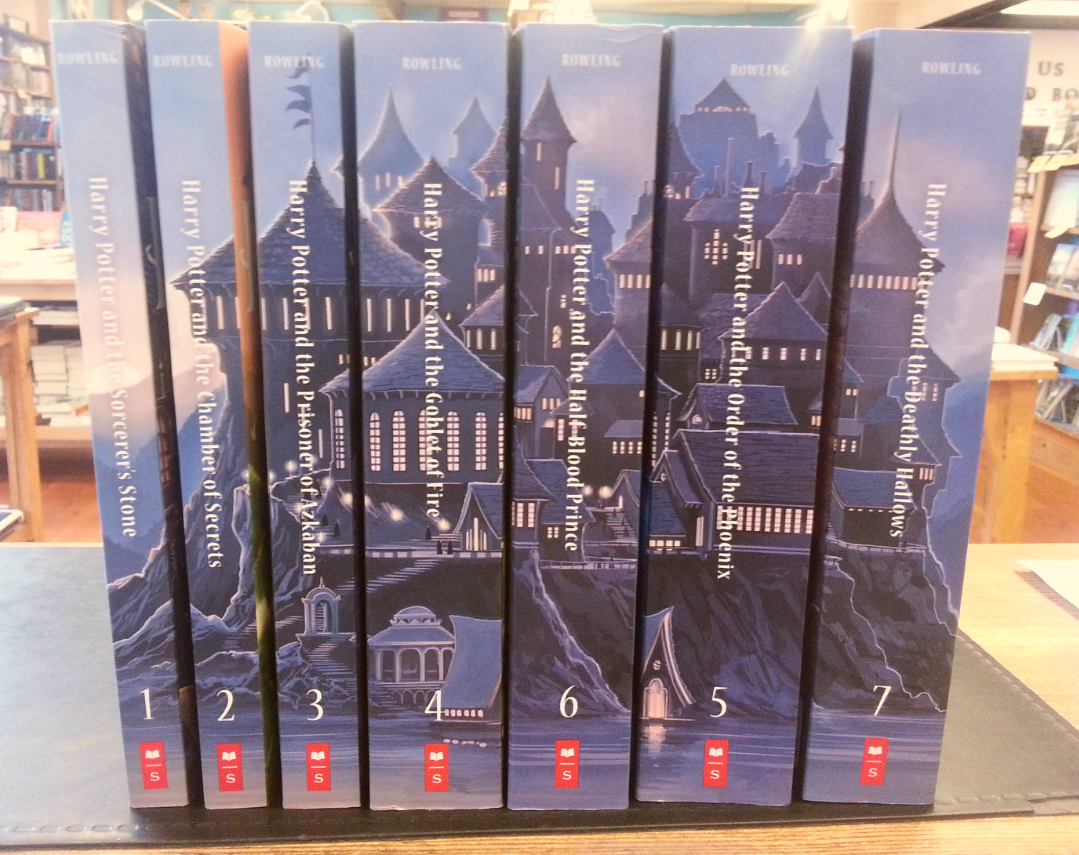 Harry Potter Original Cover Book Set : Third place new harry potter covers