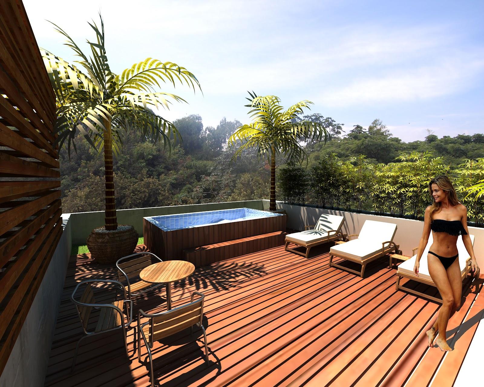 Diversificar s a constructora octubre 2012 - Jacuzzi en terraza ...