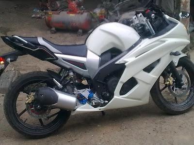 Modifikasi Sederhana Motor Yamaha Byson