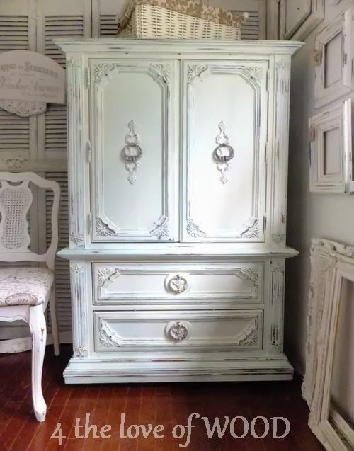 4 the love of wood: FRENCH ARMOIRE