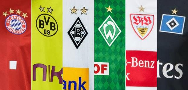 O que significam as estrelas nas camisas dos times alemães  - Show ... 732c5497efc5e