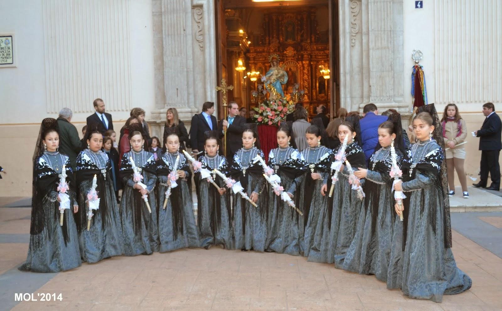 LA CANDELARIA DE 2014 EN LA PARROQUIA DE SANT JOAN BATISTE DE MANISES