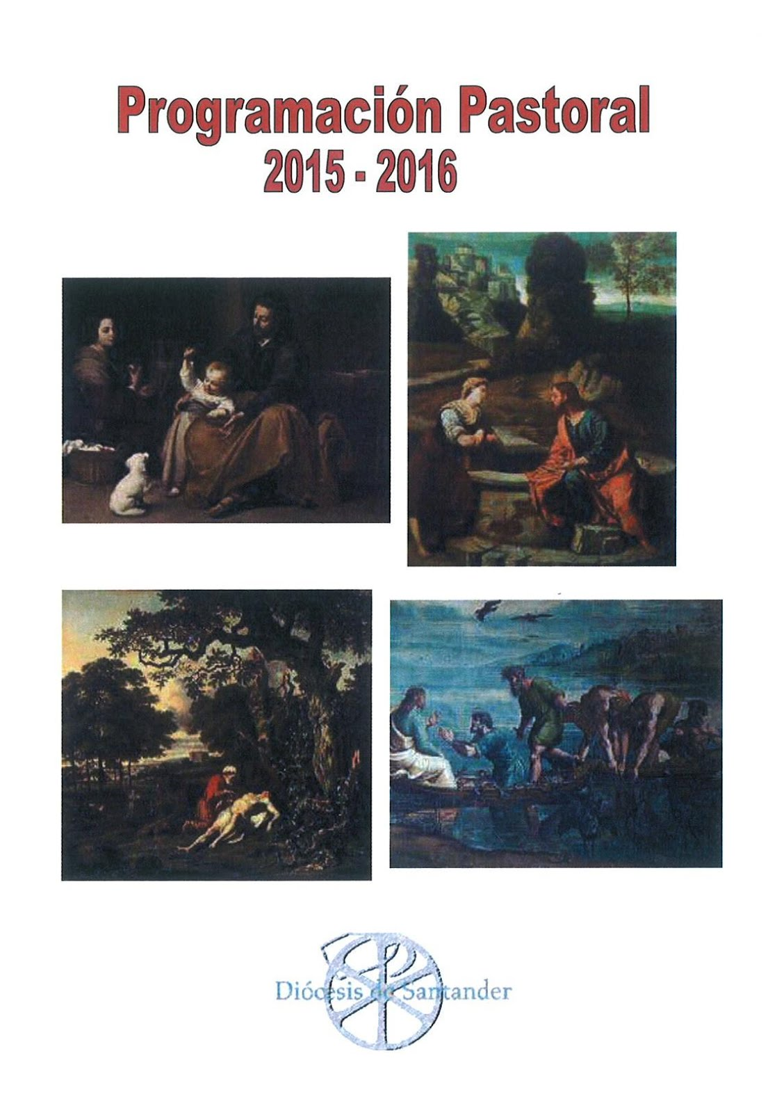 PROGRAMACION PASTORAL DIOCESANA 2015-2016