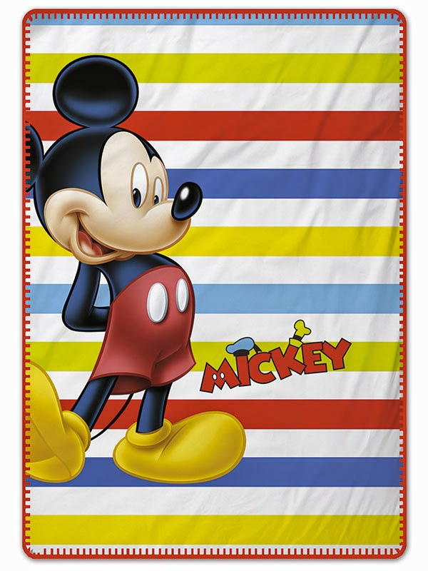 Mickey Colors  Gamanatura. Manta polar