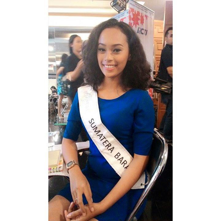 Rengganis Purwakinanti Shintia Gapelo Miss Indonesia 2015