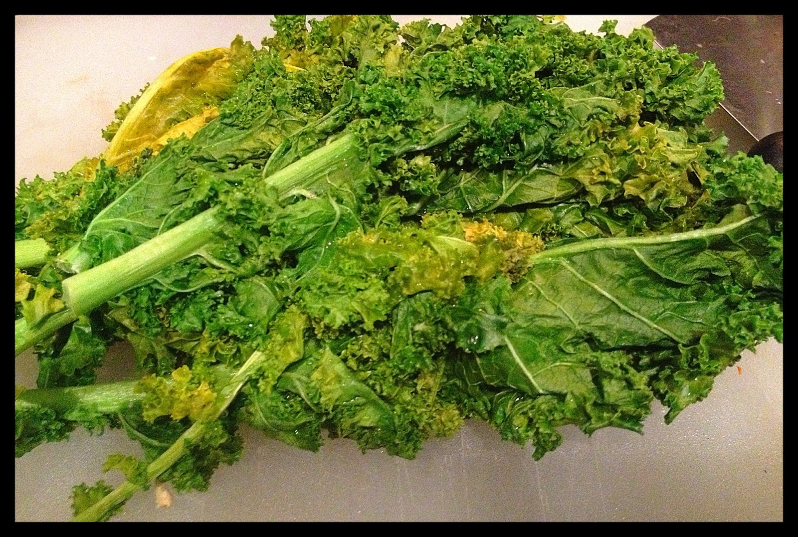 how to cook kale veggie