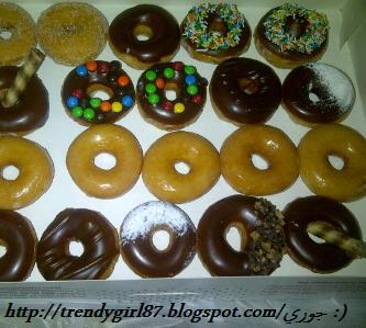 شخبوطة كويتيه Mini Krispy Kreme Donut