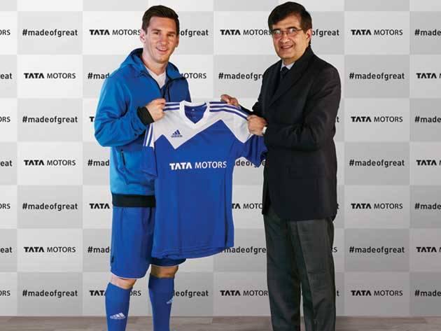 Lionel Messi Tata Motors India