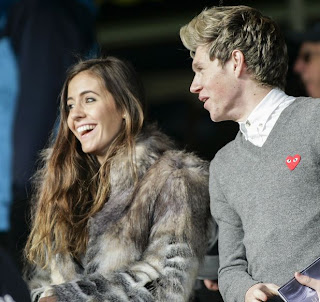 Amy Green and Niall Horan
