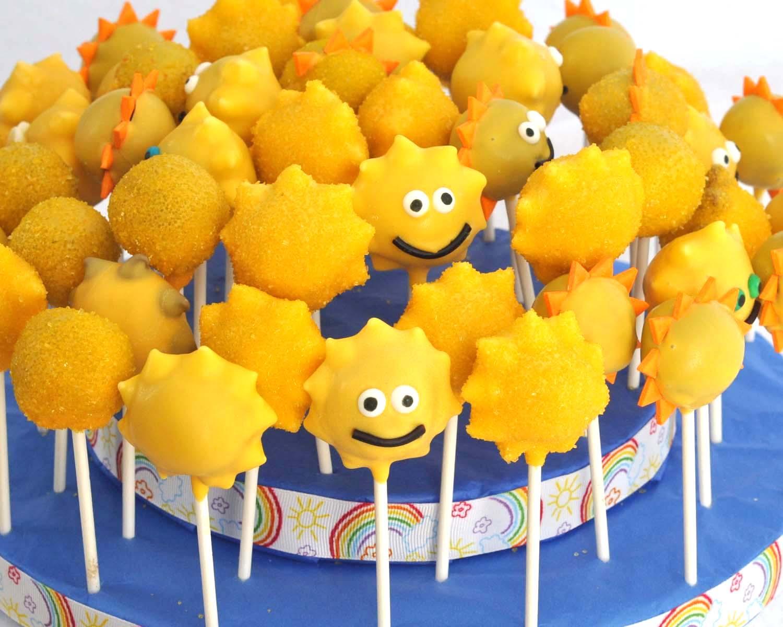 Beki Cook's Cake Blog: Summer Sunshine Cake Pops