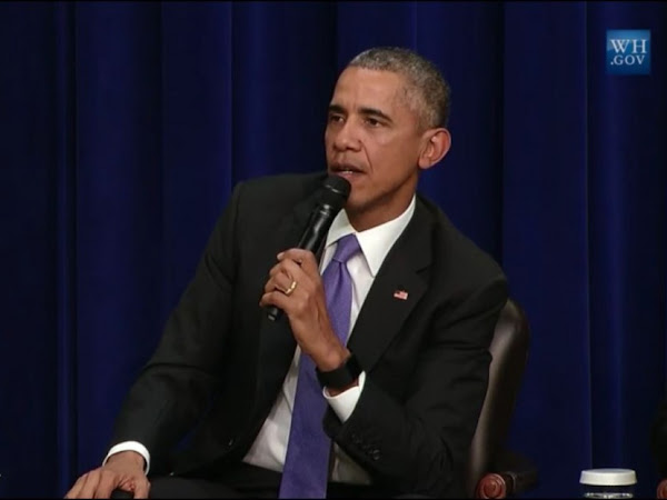 President Obama Explains The Problem With 'All Lives Matter'