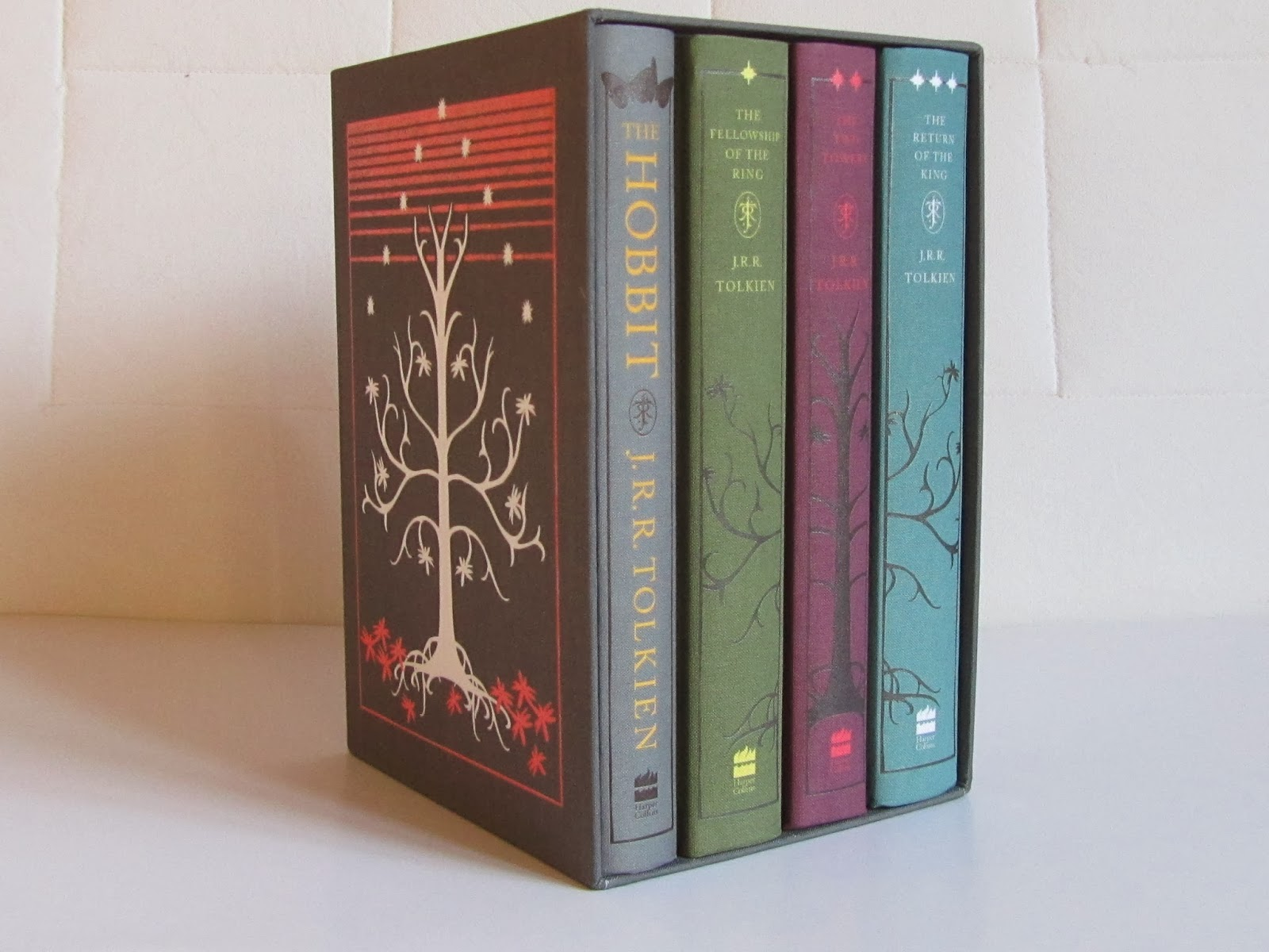 Lord Of The Rings Boxed Set Harpercollins