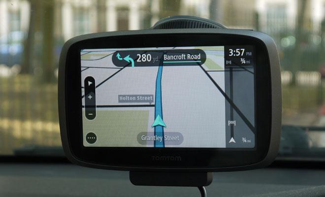 TomTom Go 500 navigation