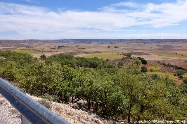 Vistas sobre los Altos de Barahona, Paredes de Sigüenza