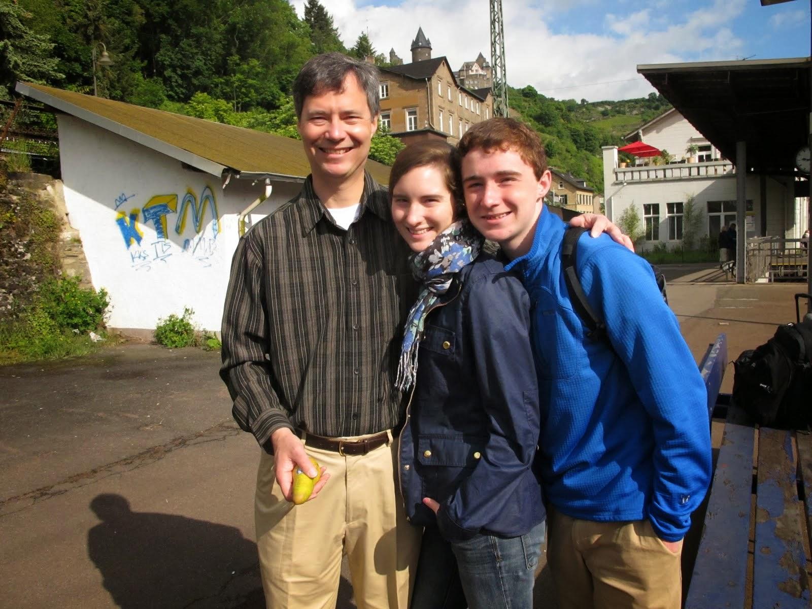 Caroline, David, and Len