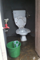 Indian Squat or Sit Toilet