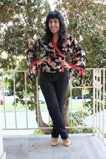 What to Wear with a Kimono