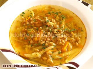 Špaldovo-zeleninová polievka - recepty