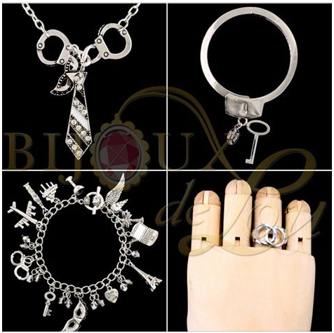 Bijoux de Lou 50 Shades of Grey Accessories