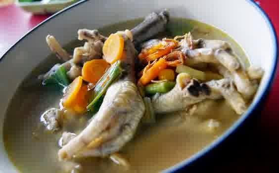 Resep Cara Membuat Sup Ceker Ayam