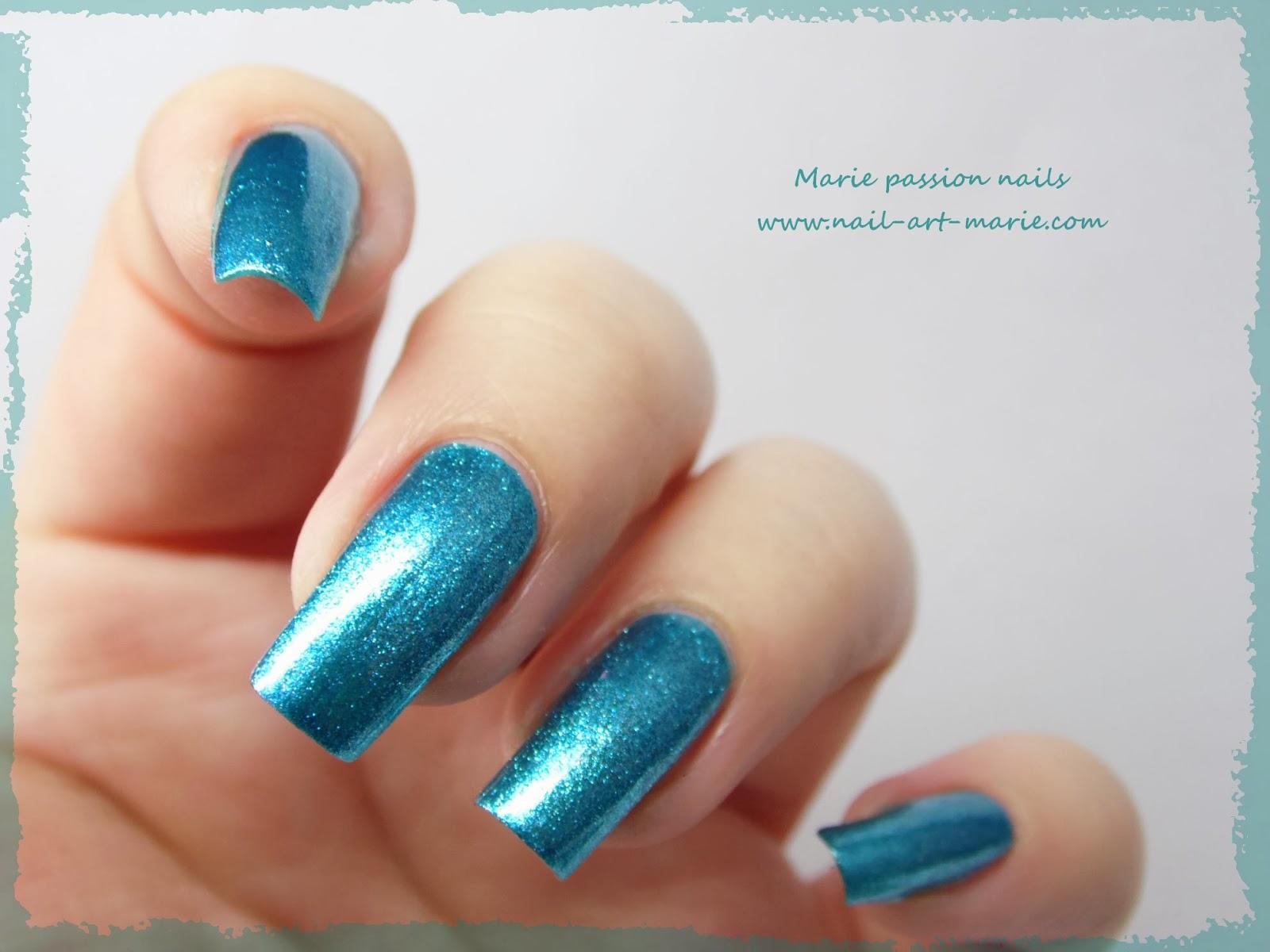Kleancolor Metallic Aqua8