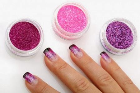 Fotos e imagens de Unhas com Glitter