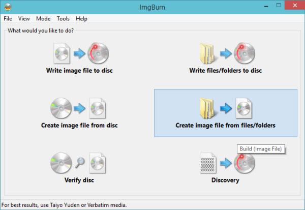 انشاء نسخة ويندوز ملفات الويندوز ديفيدي الويندوز بوابة 2016 files-to-iso.jpg
