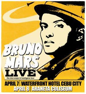 Bruno Mars Live Concert in Cebu City