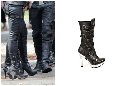 The Mortal Instruments: City of Bones Isabelle Lightwoods Shadowhunter Gear Boots (Jemima West)