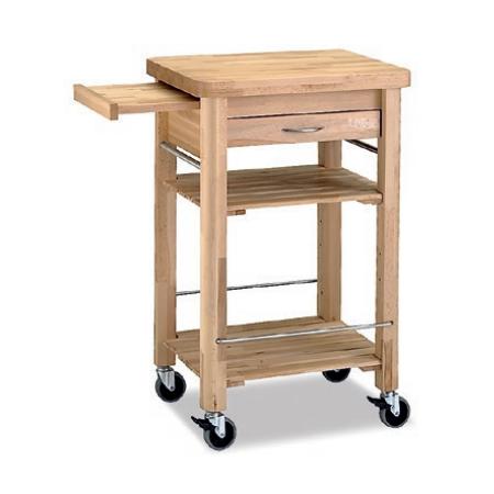 carrito cocina madera bandeja tu cocina y ba o