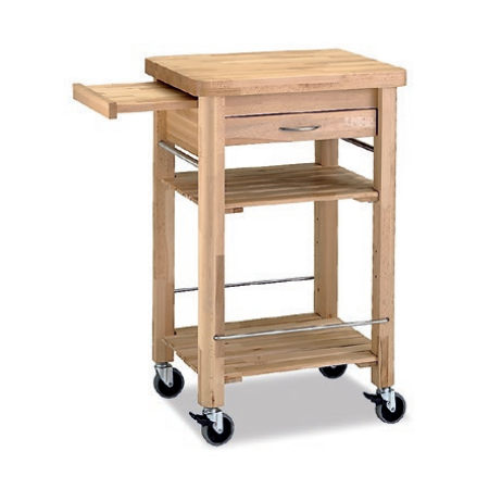 carrito cocina auxiliar madera
