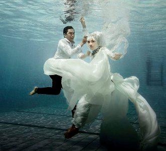 12 Foto Pre Wedding Unik