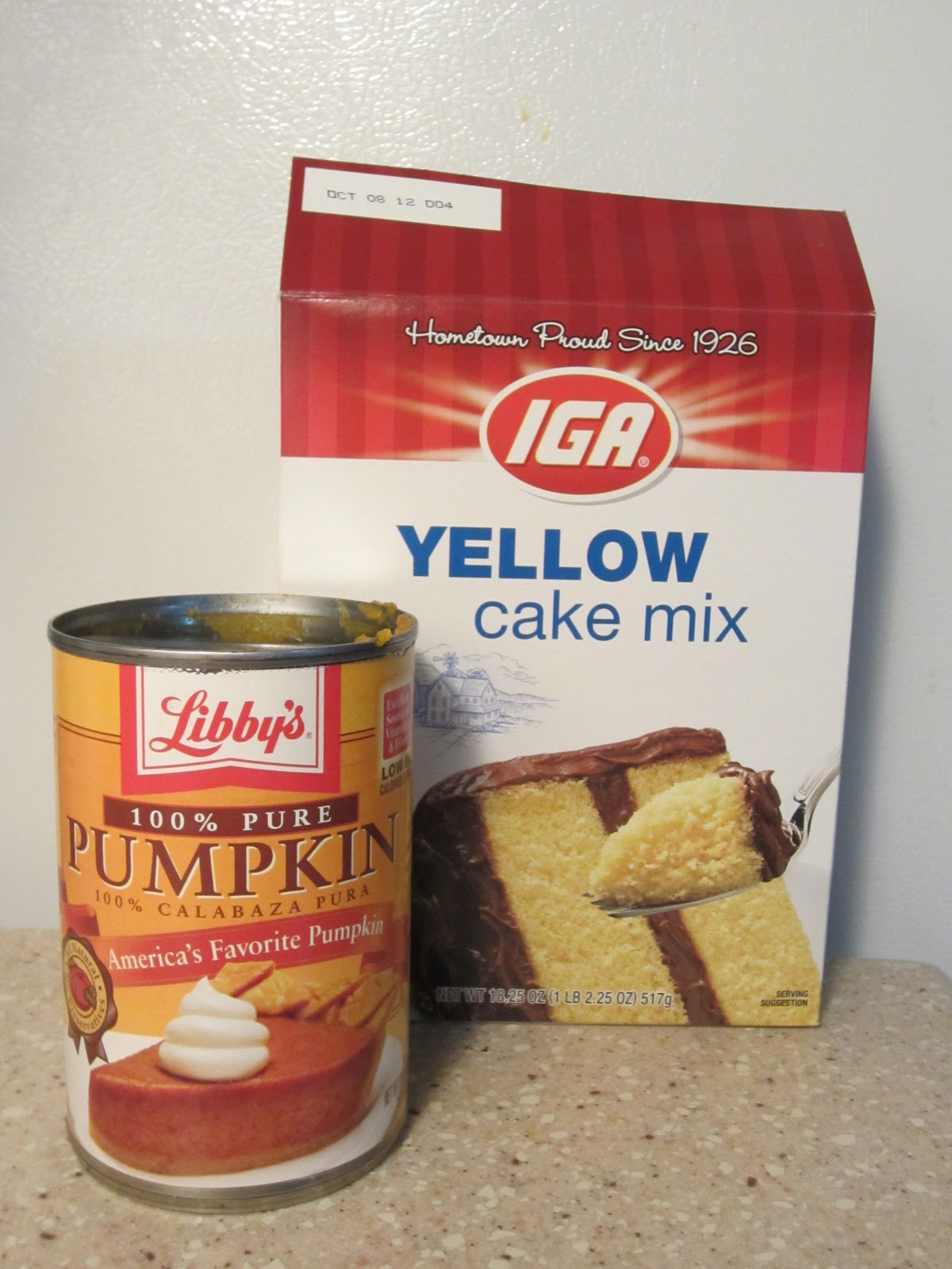 Cake Mix Pumpkin Muffins With Eggs