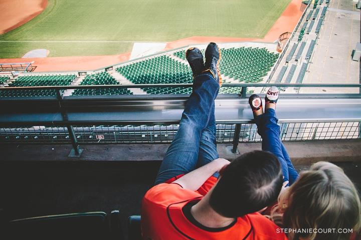 """engagement photos at at&t park"""