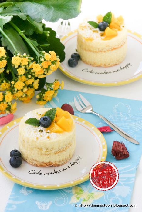 mango minicakes