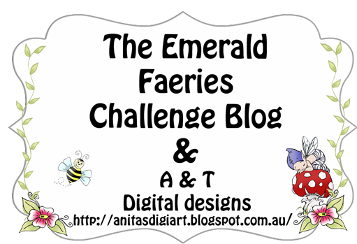 A and T Emerald Faeries Challenge Blog