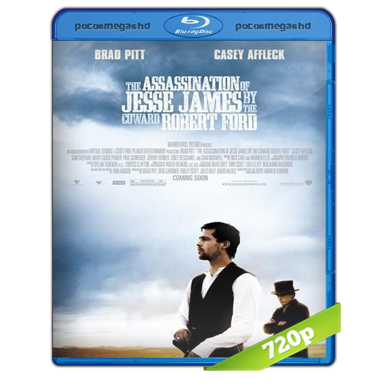 El Asesinato de Jesse James por el cobarde de Robert Ford (2007) BRRIp 720p Audio Dual Latino 5.1/Ingles