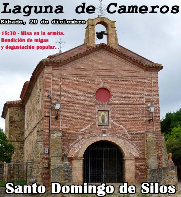 20 de diciembre, Santo Domingo de Silos en Laguna de Cameros