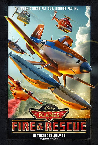 Planes: Fire & Rescue Poster 1
