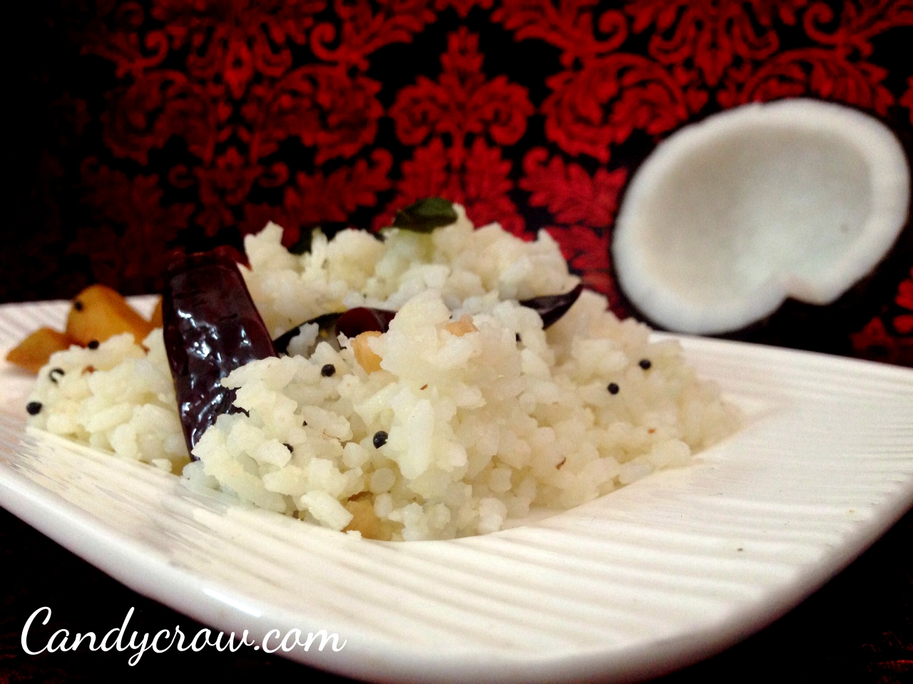 Coconut Rice Recipe, step by step